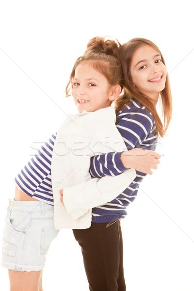 friendship, best friends Stock photo © godfer