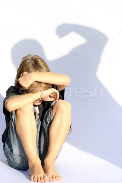 child abuse Stock photo © godfer