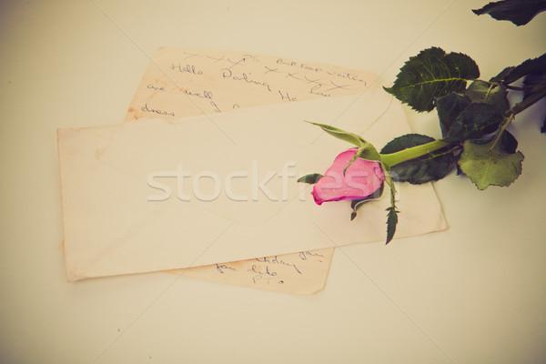 love letter Stock photo © godfer