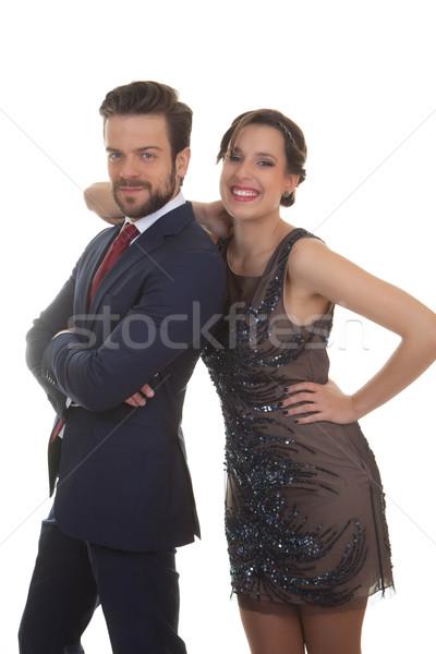 Stock fotó: Pár · buli · esküvő · esemény · boldog · üzlet