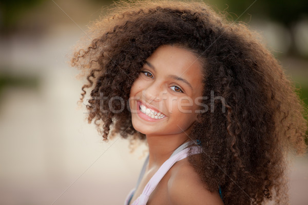 african descent child Stock photo © godfer