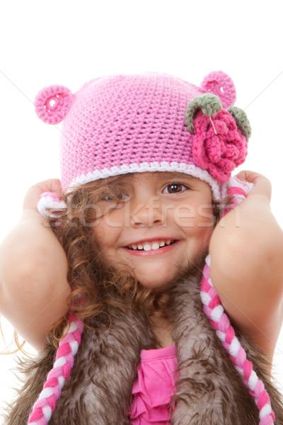 smiling child Stock photo © godfer