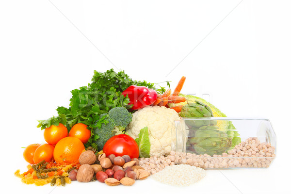 healthy fresh food Stock photo © godfer