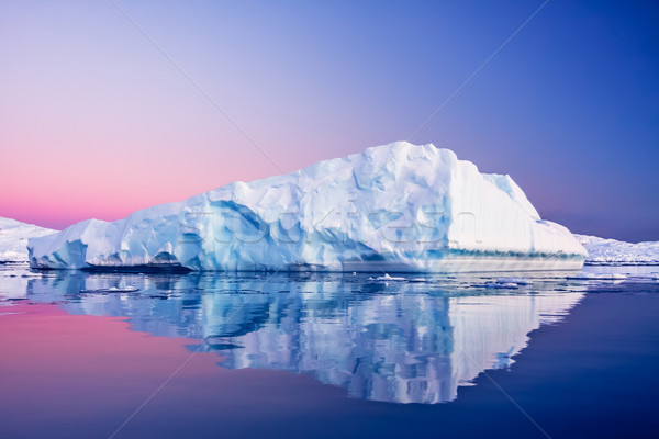 Antarctic Glacier  Stock photo © goinyk