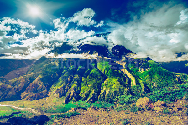 Beautiful Asian landscape Stock photo © goinyk