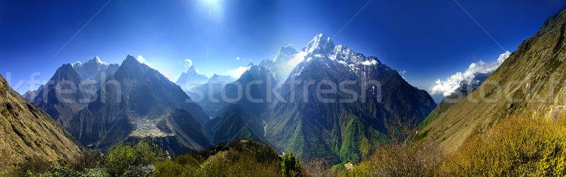 Beautiful mountain lanscape. Stock photo © goinyk