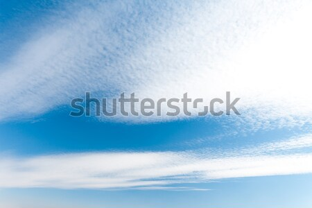 Sky clouds Stock photo © goinyk