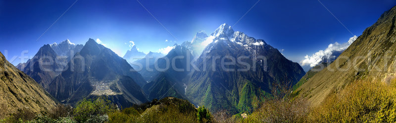Beautiful mountain landscape Stock photo © goinyk
