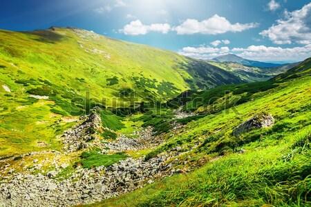 Beautiful Asian landscape Stock photo © goinyk