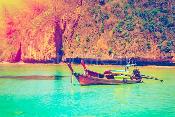 Travel to the paradise island Stock photo © goinyk