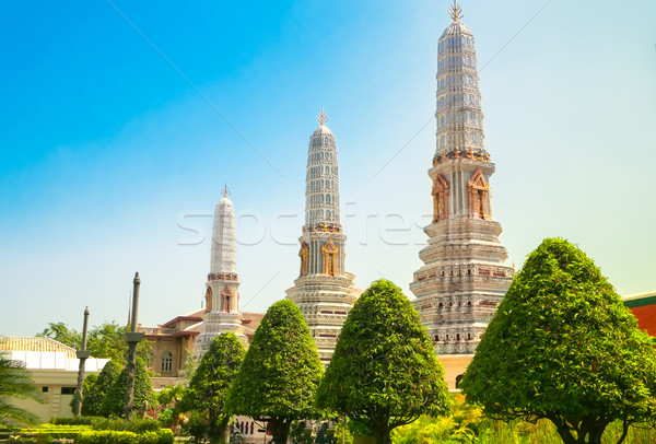 Grand palace, Bangkok, Thailand Stock photo © goinyk