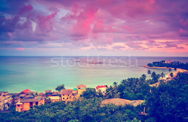 Beautiful sunset Stock photo © goinyk