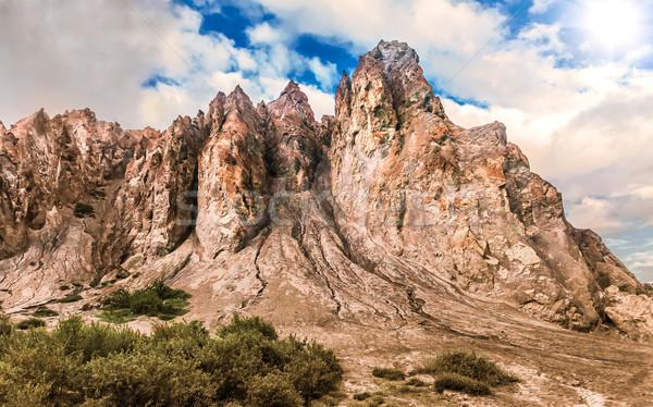 Nepal hermosa paisaje himalaya montanas Foto stock © goinyk