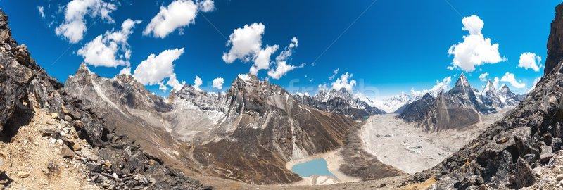 Beautiful mountain landscape Stock photo © goinyk