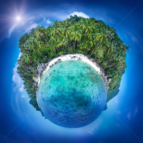 Сток-фото: острове · Таиланд · идеальный · курорта · красивой · мало