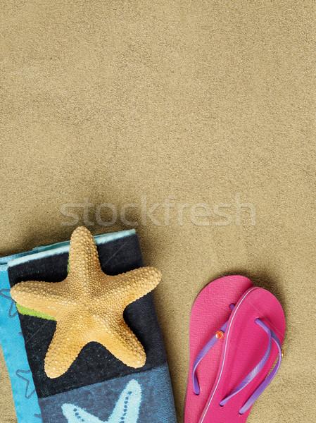 Beach scene Stock photo © goir
