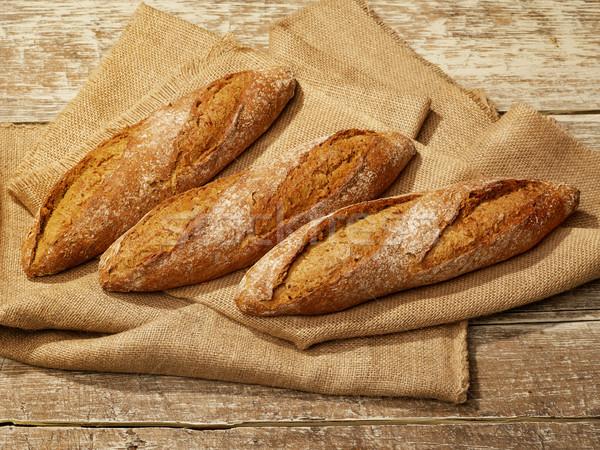 Bread aerial view Stock photo © goir