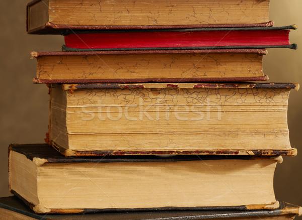 Antique books Stock photo © goir