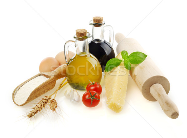 Cooking ingredients Stock photo © goir