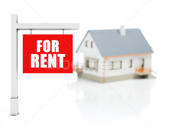 House for rent Stock photo © goir