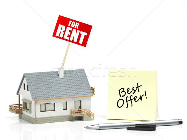 House for rent concept Stock photo © goir