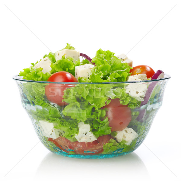 Salad bowl Stock photo © goir