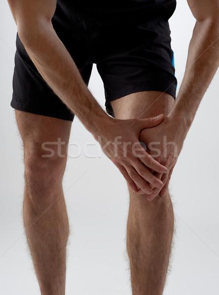 Knee pain Stock photo © goir