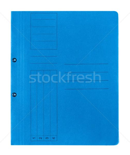 Manila folder isolated on white background Stock photo © goir