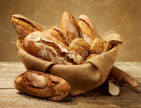 свежие природы хлеб среде коричневый Сток-фото © goir