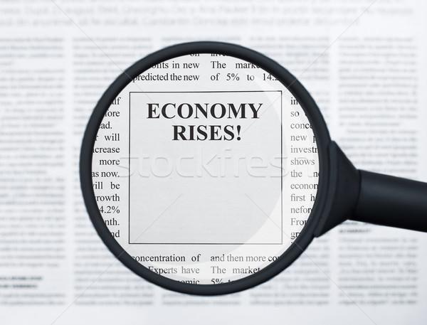 Economy rises Stock photo © goir