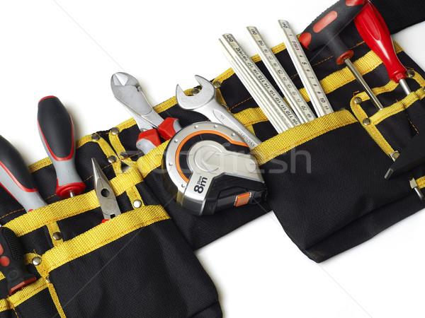 Outils isolé blanche instrument fabrication équipement Photo stock © goir