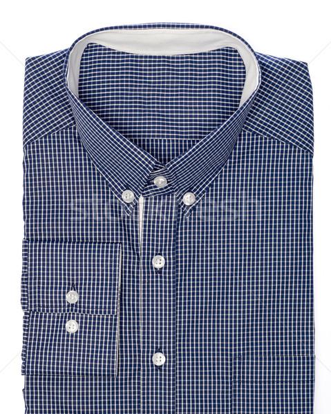 シャツ 男性 孤立した 白 ファッション スーツ ストックフォト © goir