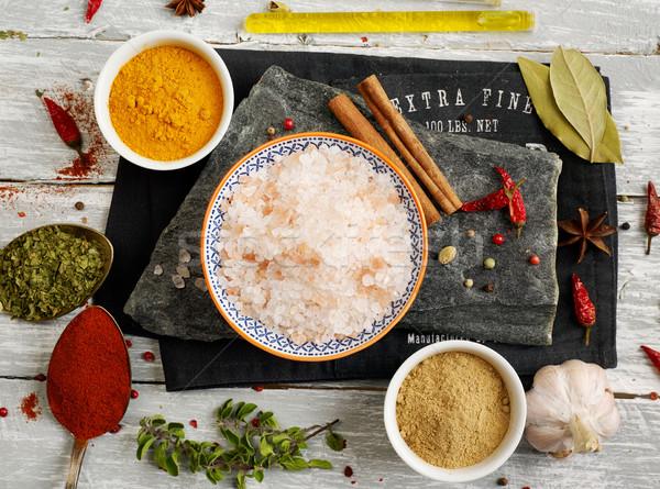Spices mix Stock photo © goir
