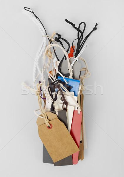 Prix isolé gris signe corde Photo stock © goir