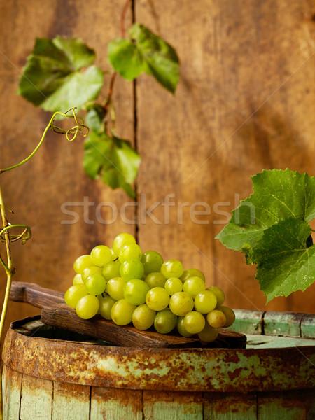 ブドウ バレル 表 ファーム ブドウ アルコール ストックフォト © goir