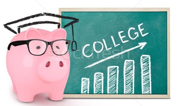 Saving for college Stock photo © goir