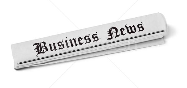 Newspaper Stock photo © goir