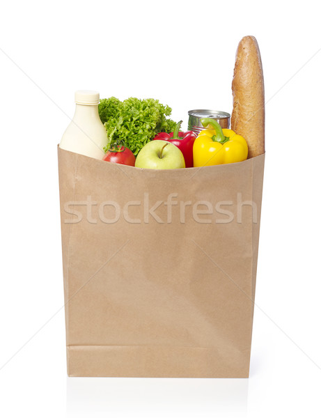 Groceries bag Stock photo © goir