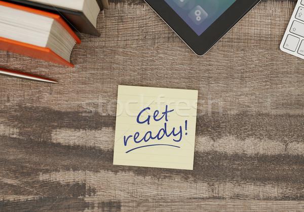 Get ready! Stock photo © goir