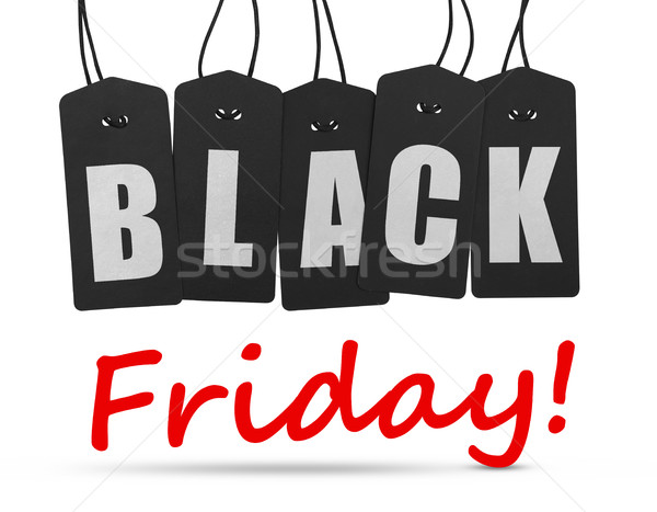 Black friday tags Stock photo © goir