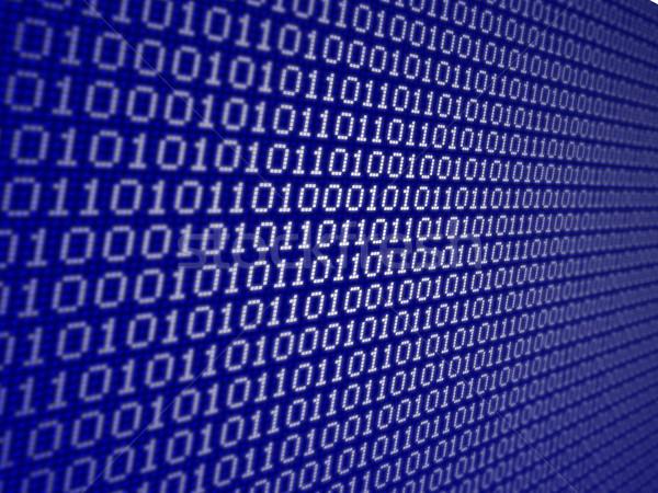 バイナリコード インターネット データ 背景 成長 開発 ストックフォト © goir