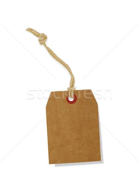 étiquette isolé blanche signe vente chaîne Photo stock © goir