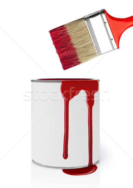 Dripping paint Stock photo © goir