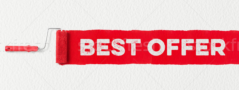Best offer banner Stock photo © goir