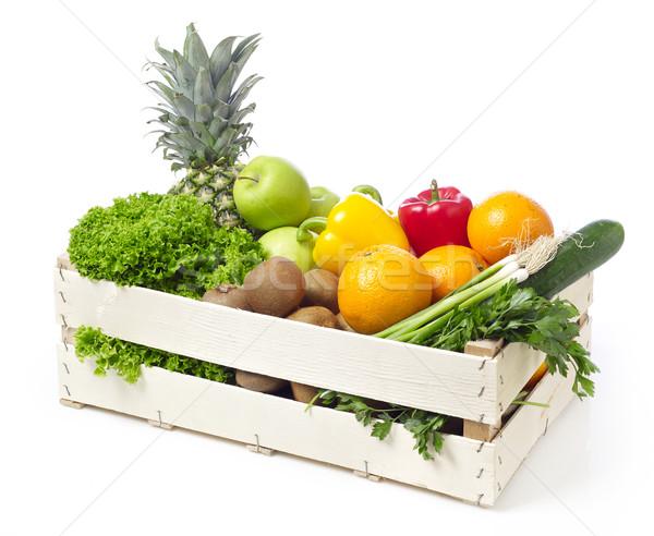 плодов растительное овощей изолированный Сток-фото © goir