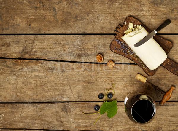 Wine and cheese Stock photo © goir