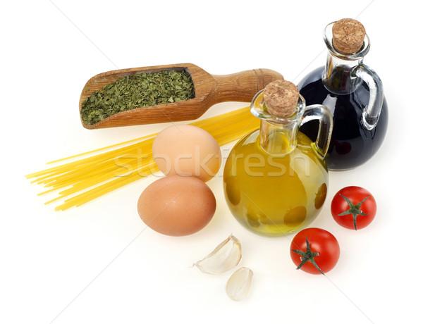 Italian cuisine ingredients Stock photo © goir