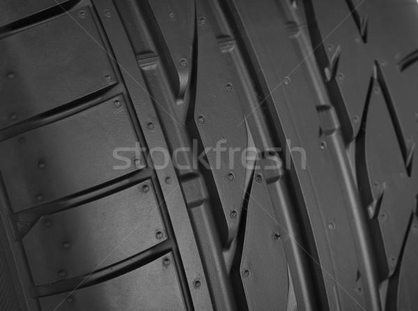 Pneu détail voiture sport technologie métal Photo stock © goir