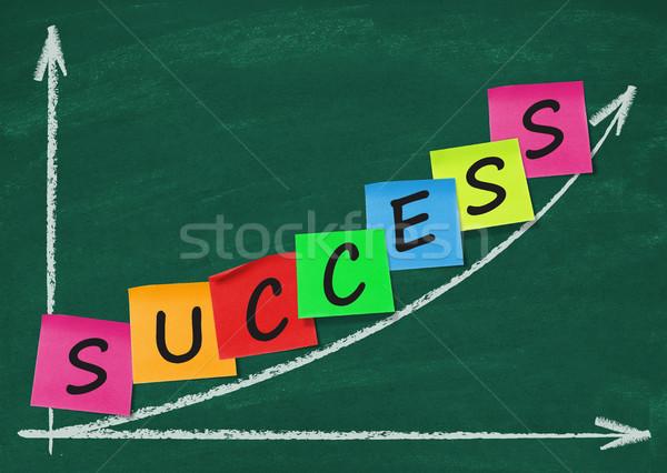 The way to success Stock photo © goir