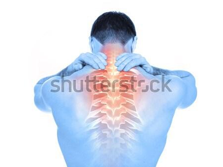 Spine pain Stock photo © goir
